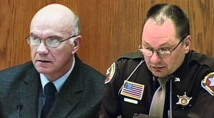 James Lenk (left) and Andrew Colborn (right), former Manitowoc County police officers