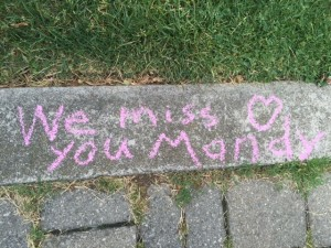 Miss you Mandy