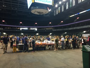United Way Harvest Lunch at Budweiser Gardens