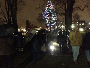 Great turnout at Victori Park